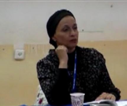 הרבנית רויטל הוד. שיעור במדרשה - התפתחות. יום שלישי -3.11.15